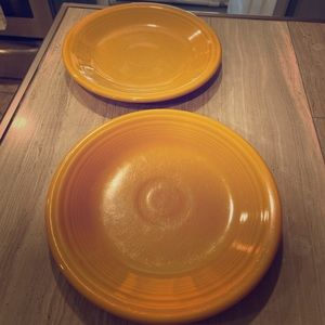 CLEARANCE - 2/13$ MARIGOLD appetizer plates 🧡💛